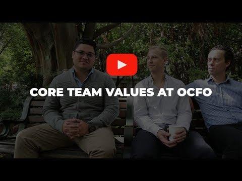 Core Team Values at OCFO | Outsourced CFO