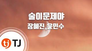 [TJ노래방] 술이문제야 - 장혜진,윤민수 / TJ Karaoke
