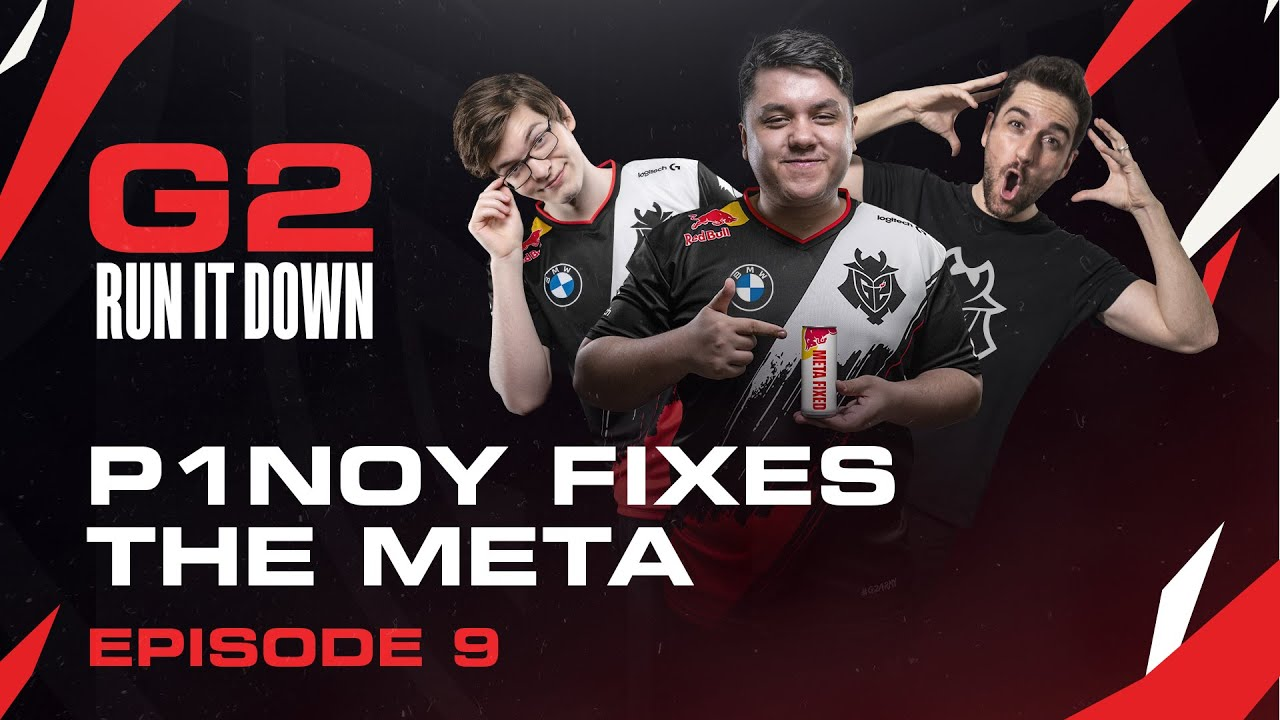 G2 Run It Down With Mikyx and P1noy | P1noy Fixes The Meta
