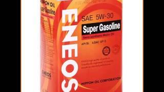 Моторное масло ENEOS 5W30 SL, 4 л, полусинтетическое