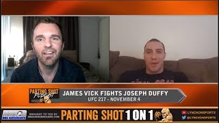 UFC 217's James Vick believes he's better everywhere than Joe Duffy