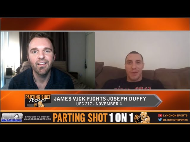UFC 217's James Vick believes he's better everywhere than Joe Duffy