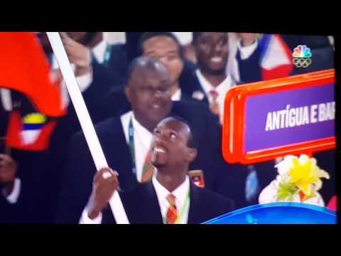 Río 2016 Olympia Antigua & Barbuda good luck guys make us Proud!!! Go! Team Antigua & Barbuda.