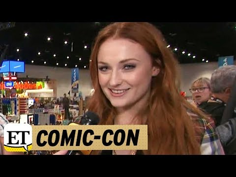 EXCLUSIVE: 'Game of Thrones' Star Sophie Turner Brings 'Amazing Accessory' Joe Jonas to Comic-Con