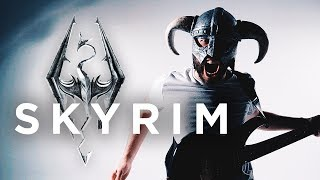 "SKYRIM THEME - ""Dragonborn"" (METAL/ROCK COVER by Jonathan Young)"