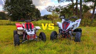 Yamaha Banshee 400 stroker vs Yamaha Raptor 700R