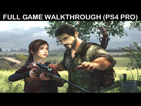 The Last Of Us Remastered Full Game Walkthrough - No Commentary