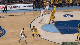 NBA Indiana Pacers vs Charlotte Bobcats - 3rd Qrt - NBA Live 14 PS4 - HD