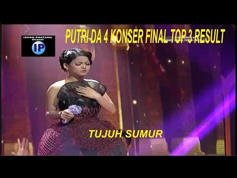 Spektakuler Putri Da4 (5 Lampu Hijau) - Tujuh Sumur ( konser final top 3 Result )