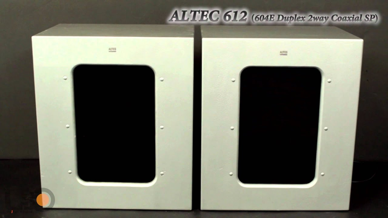 ALTEC 612 + 604E Super Duplex SP - YouTube
