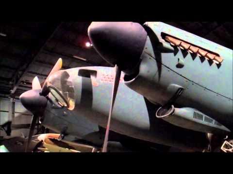 British Dehaviland Mosquito Bomber at Air Force Museum