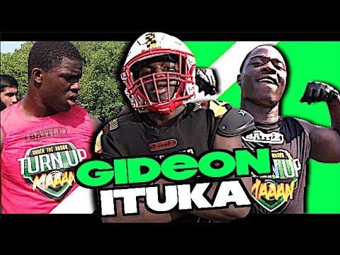🔥🔥 Gideon Ituka '24    Soon To Be 8TH GRADER ! Maryland Heat Football   Kid Has CRAZY Potential