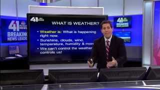 Weather 101 for kids - with Meteorologist JD Rudd