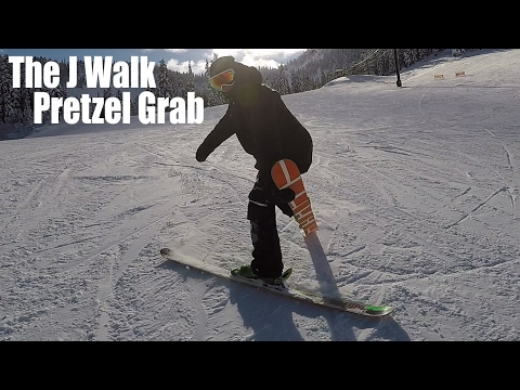 HOW TO J WALK PRETZEL GRAB ON SKIS