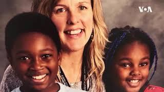 美国跨种族领养的儿童在学校面临困境