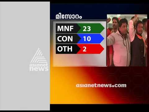Five State Election Result |Mizoram MNS leading Live Updates