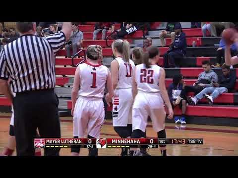 High School Girls Basketball: Mayer Lutheran vs. Minnehaha Academy