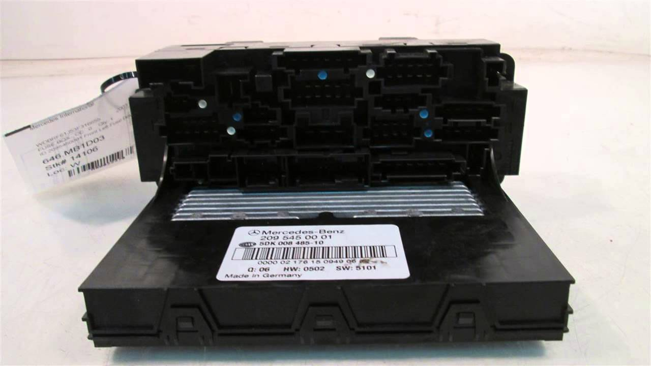 2003 mercedes c240 id 2095450001 front left fuse box mbiparts com 2003 mercedes benz 4matic [ 1280 x 720 Pixel ]