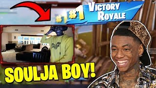 SOULJA BOY WINS HIS FIRST GAME OF FORTNITE!