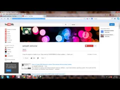 Free How To Download YouTube Video Or Video Playlist All At Once!EASY !!    HD January 2014