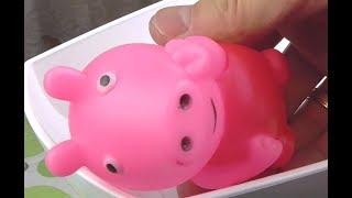 Experiment: MEAT GRINDER vs Peppa Pig Family Toys