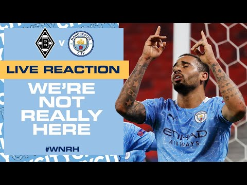 ANOTHER AWAY WIN! | GLADBACH 0-2 CITY | WNRH FULL TIME