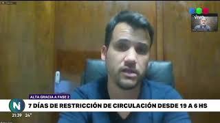 """Alta Gracia vuelve a """"Fase 2"""""""