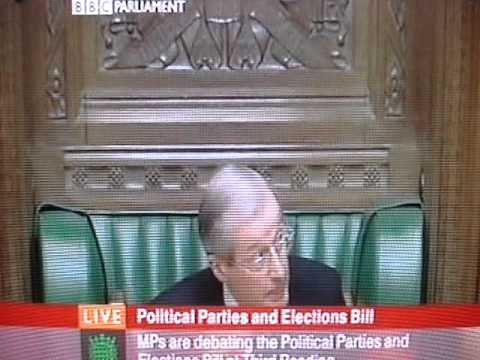 Sir Alan Haselhurst, House of Commons, expert in procedure