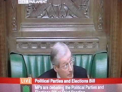 Sir Alan Haselhurst, House of Commons, expert in procedure