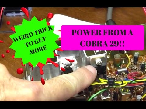 Cobra 29 Mosfet Modification, Complete installation, Shows ALL, Save MONEY  Do it Yourself!