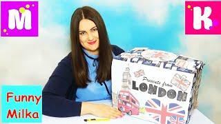 Подарки от Miss Katy и Mister Max Посылка из Лондона Огромное маршмеллоу