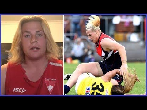 Trans Athlete Is CRUSHING Aussie Chicks At Handball 🤾
