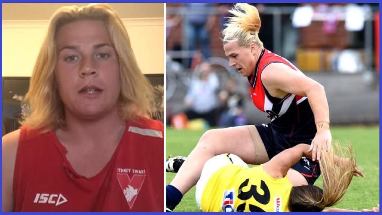 Trans Athlete is CRUSHING Aussie Chicks at Handball