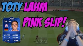 TOTY LAHM PINK SLIP VS GCIIMESSI!