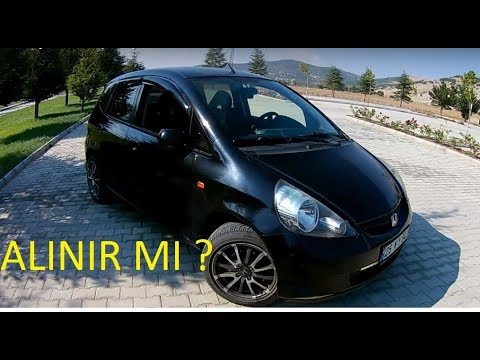 Honda jazz 1.4 ls (2004) test/inceleme