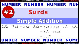 Surds #2 - Simple Addition