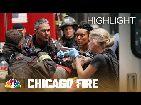 Kidd Rushed To Chicago Med - Chicago Fire (Episode Highlight)