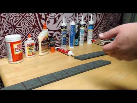 Testing Gap fillers for EVA Foam