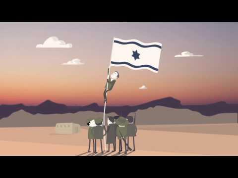 Así Nació  El Estado De Israel