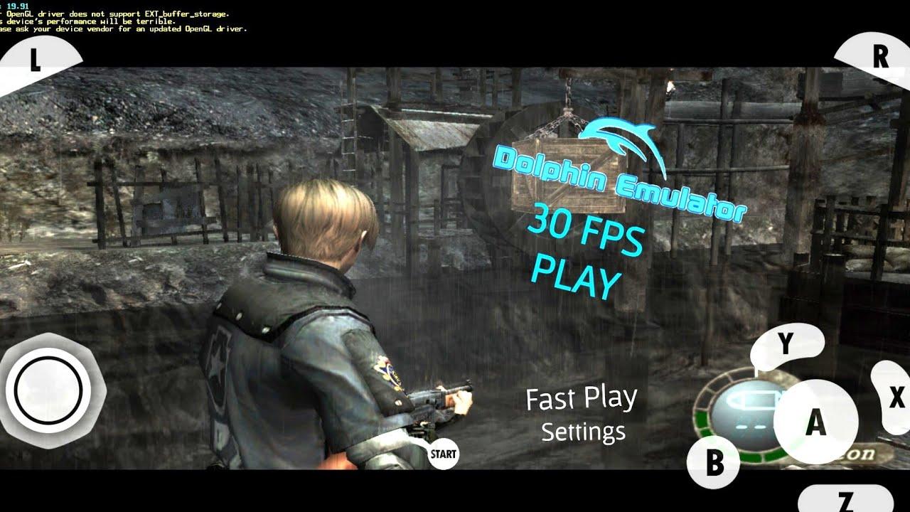 Resident evil 4 🔥 Settings Dolphin Emulator Android 🔥🔥
