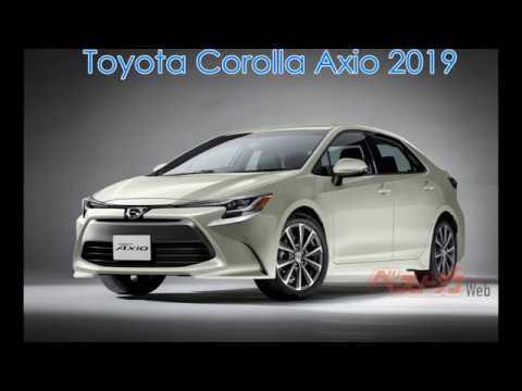 Toyota Corolla Axio 2019 - YouTube