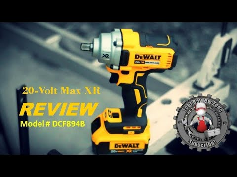 Dewalt 20 Volt Max Xr Brushless 1 2 In Impact Wrench Review Dcf894b
