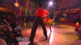 Kristie Alley and Maksim Chmerkovskiy Dancing with the Stars final samba