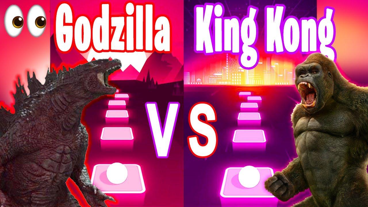 Download Godzilla Song VS King Kong Song - Tiles Hop Edm RUSH!