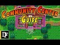 A Simple Community Center Guide Stardew Valley mp3
