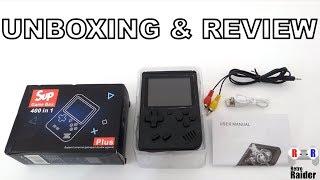 Sup Retro Game Box 400 in 1 / UNBOXING & REVIEW - Retro Raider