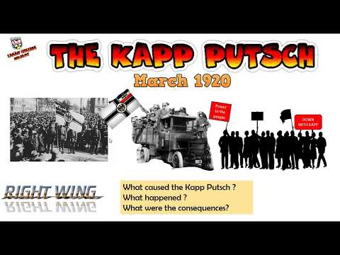 why was the putsch considered a Links was the republic doomed from the start good notes historylearning on the early problems - excellent german attitudes 1918-21 - sources hyperinflation munich putsch.
