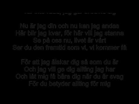 Kärleksvisan (Sarah Dawn Finer) Text+Piano Karaoke