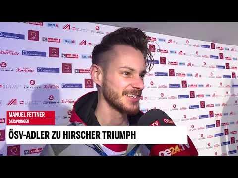 ÖSV-Adler zu Hirschers Triumph