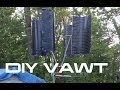 DIY: Vertical Wind Turbine VAWT
